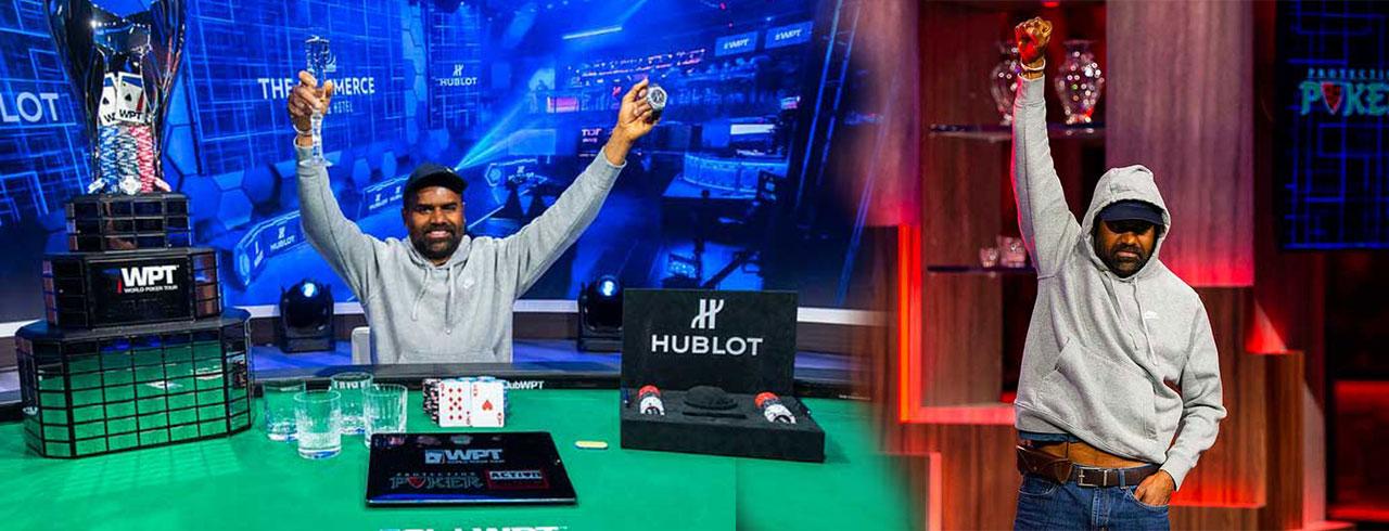 BALA PATUR完成了他赢得WPT LA扑克经典赛的目标