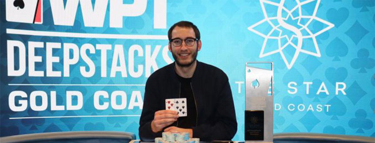 WILL DAVIES 将赢得 WPT扑克 DEEP STACKS 黄金海岸主赛事!