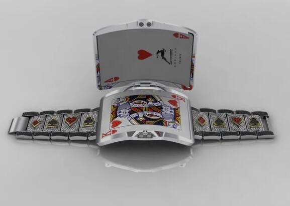 WSOP国际赛事 史上最辉煌的金手链,最终却.....? WSOP金手链打开可以放扑克牌
