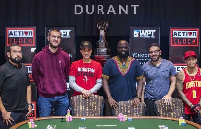 2021年WPT赛事 Choctaw3700美刀主赛由Dapo Ajayi赢得他德州扑克職業生涯最高的奖励!