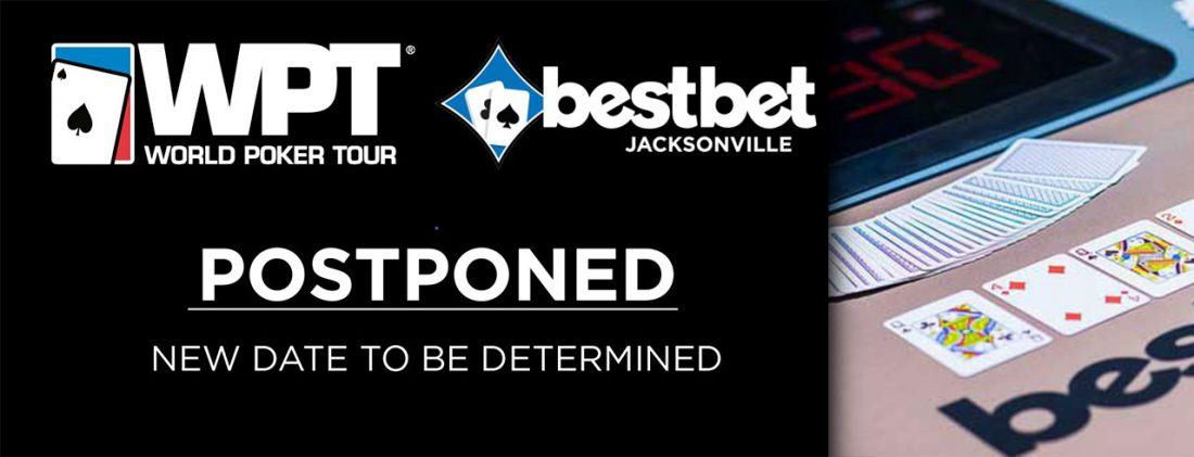 WPT bestbet 位于佛罗里达州的争夺战因 COVID-19 确定延迟