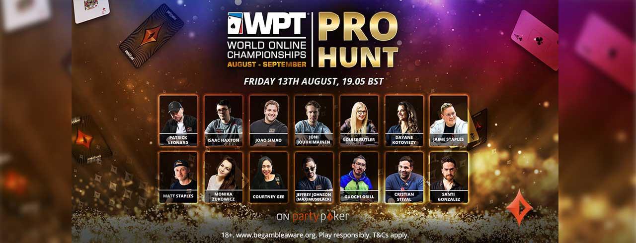 线上WPT 世界扑克巡回赛 YASHCHUR 赢得 WPT PRO HUNT