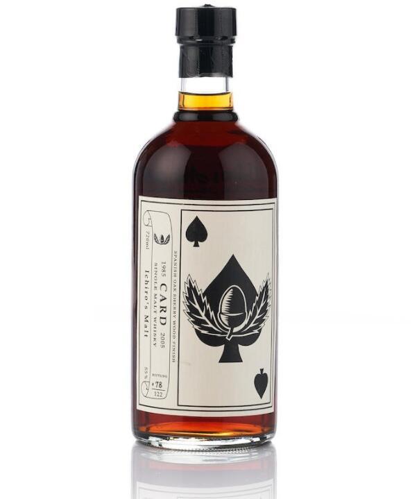 【羽生扑克王】54瓶威士忌破纪录拍卖成交