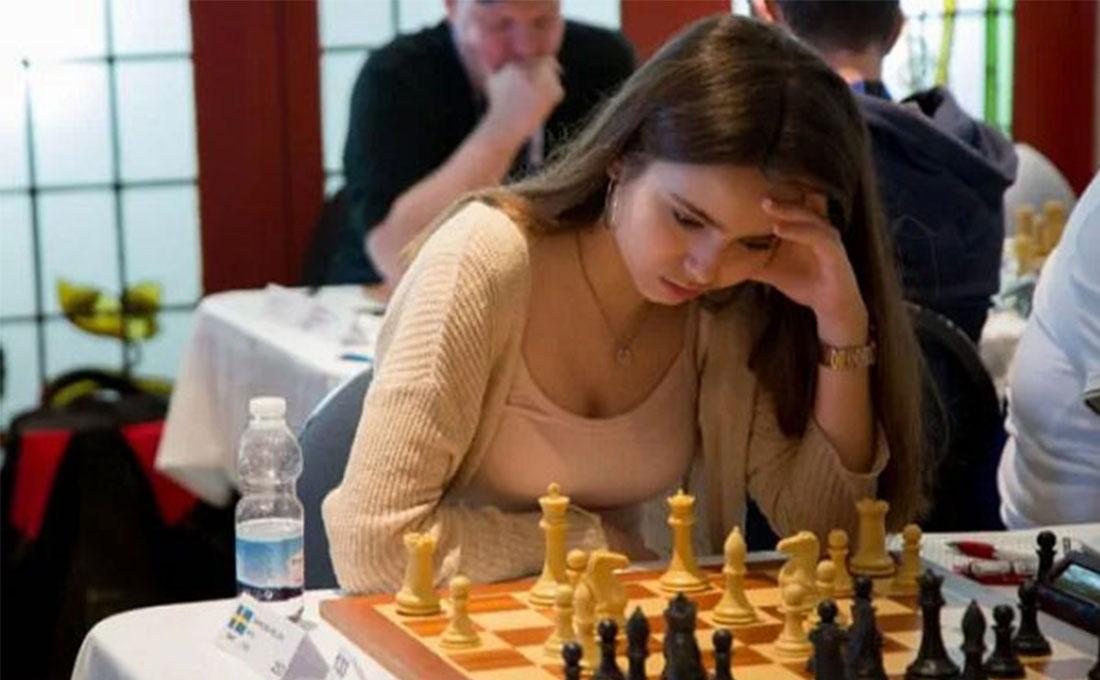 美女西洋棋手Anna Cramling 跨界参与扑克赛事